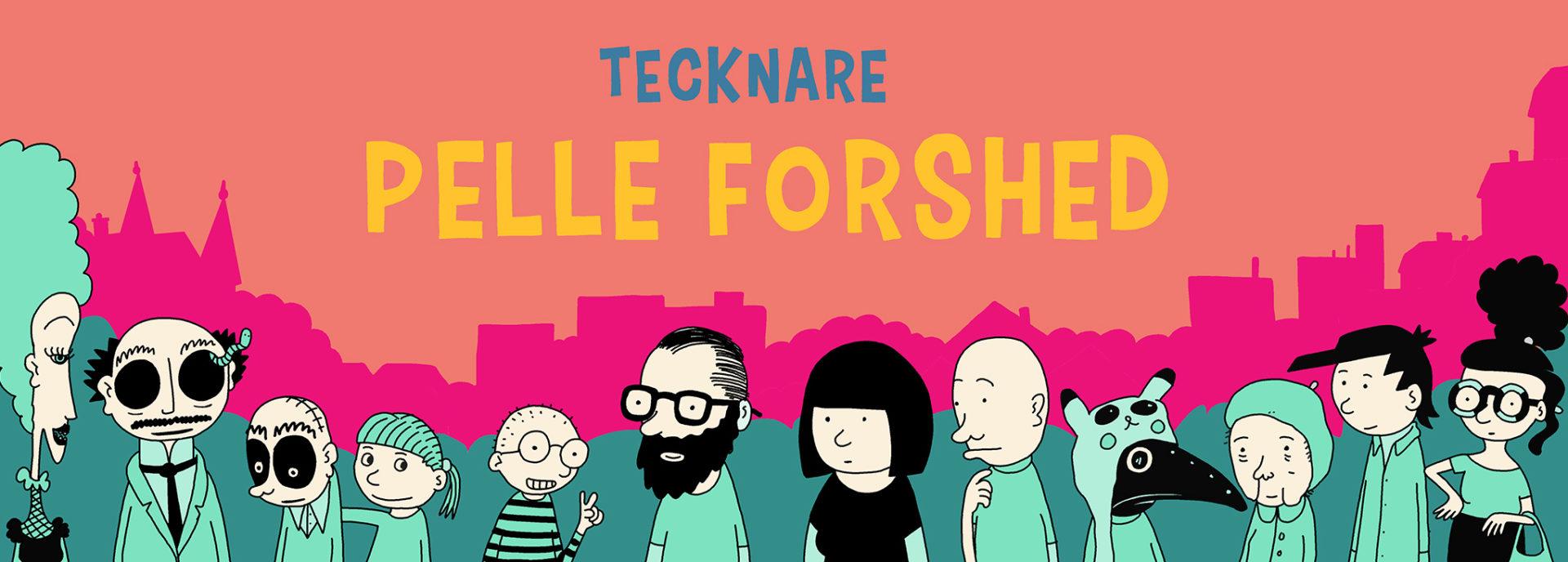 Tecknare Pelle Forshed
